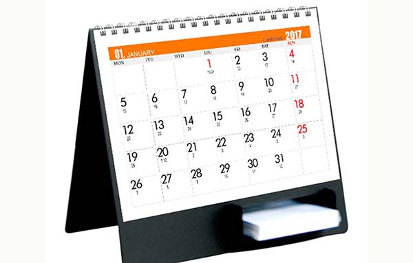 Đặt làm lịch bàn theo yêu cầu