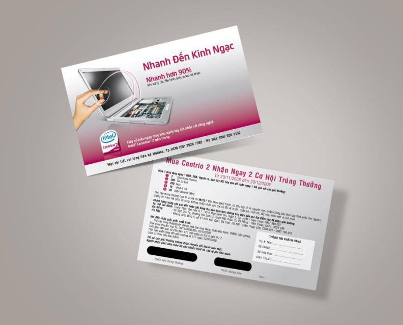 Quy trình in thẻ cào uy tín chuyên nghiệp tại Tphcm