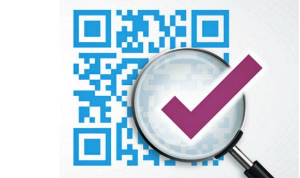 Tem chống giả mã QR code phủ cào