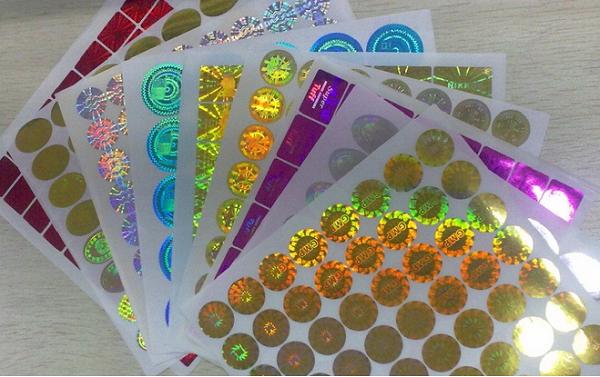 imagestem chống giả Hologram tróc tổ ong