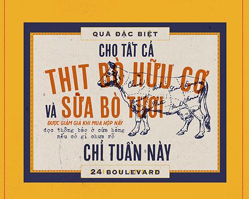 cách thiết kế tờ rơi ấn tượng phong cách cô ba Sài Gòn