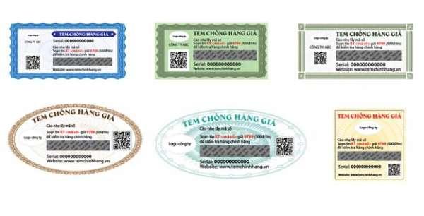 Địa chỉ in tem chống giả quận Bình Tân