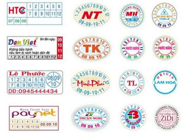 Gợi ý in tem chống giả quận Tân Phú