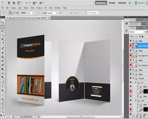 Thiết kế tờ rơi bằng phần mềm gì: photoshop