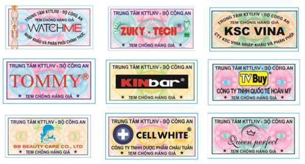 Các mẫu tem bảo hành cảm nhiệt