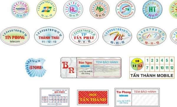 Quy định về tem chống hàng giả