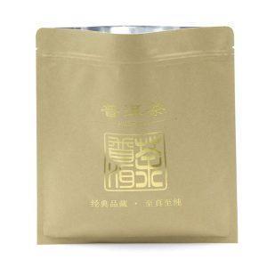 in túi giấy đựng trà