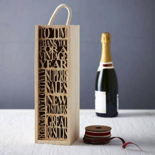 In túi giấy đựng rượu