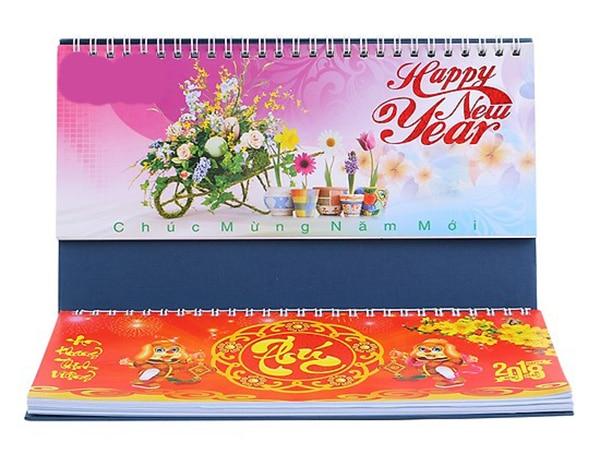 in lịch để bàn giá rẻ tại Đà Nẵng