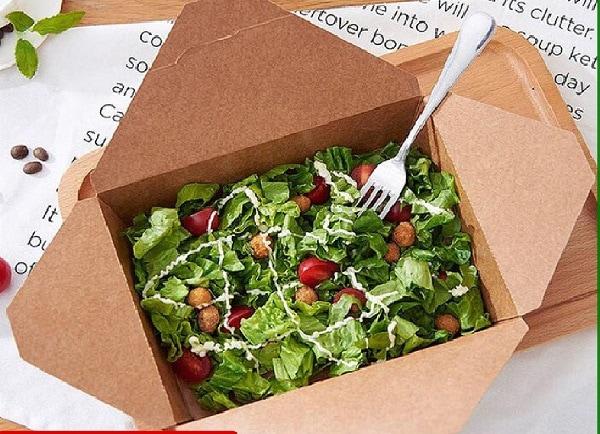 Hộp giấy đựng salad