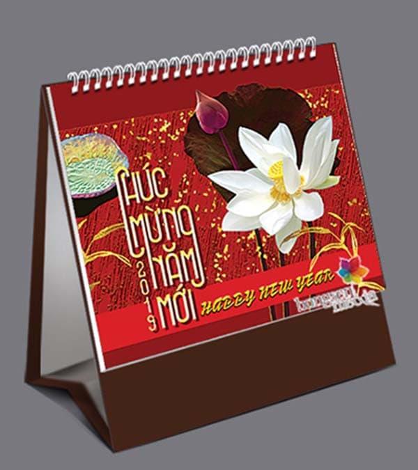 in lịch để bàn tại Quận Tân Phú