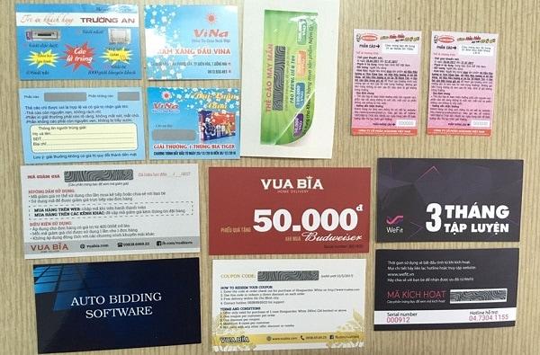 in ấn thẻ cào tại Quảng Nam