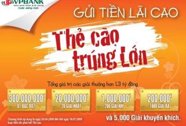 làm thẻ cào trúng thưởng tại Bình Định