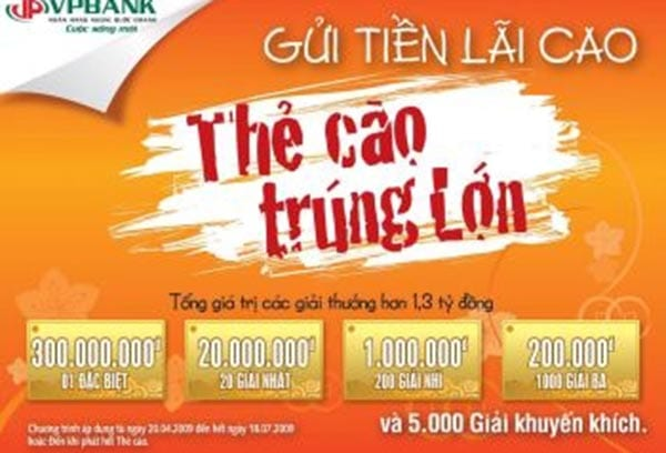 in thẻ cào trúng thưởng tại Đồng Nai