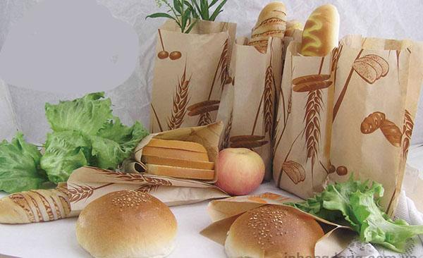 in túi giấy đựng thực phẩm tại Bình Thuận