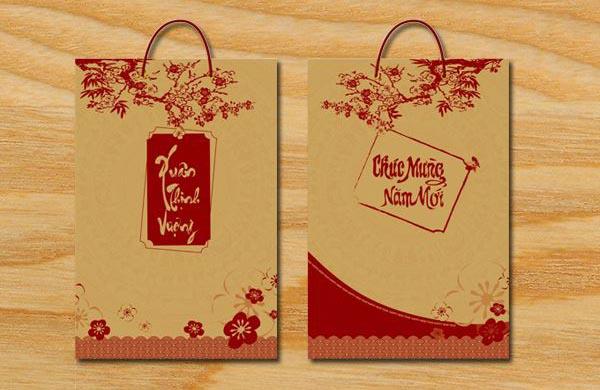 in túi giấy tái chế tại Bình Định