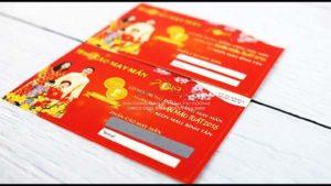 sản xuất thẻ cào trúng thưởng tại Long An