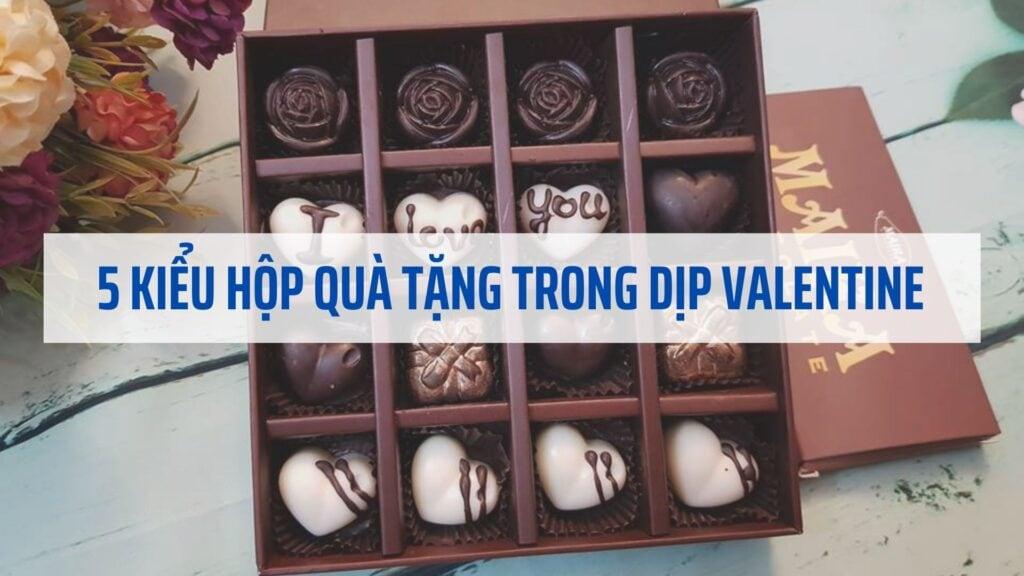 Gợi ý 5 kiểu hộp quà tặng trong dịp Valentine dành cho các cặp tình nhân