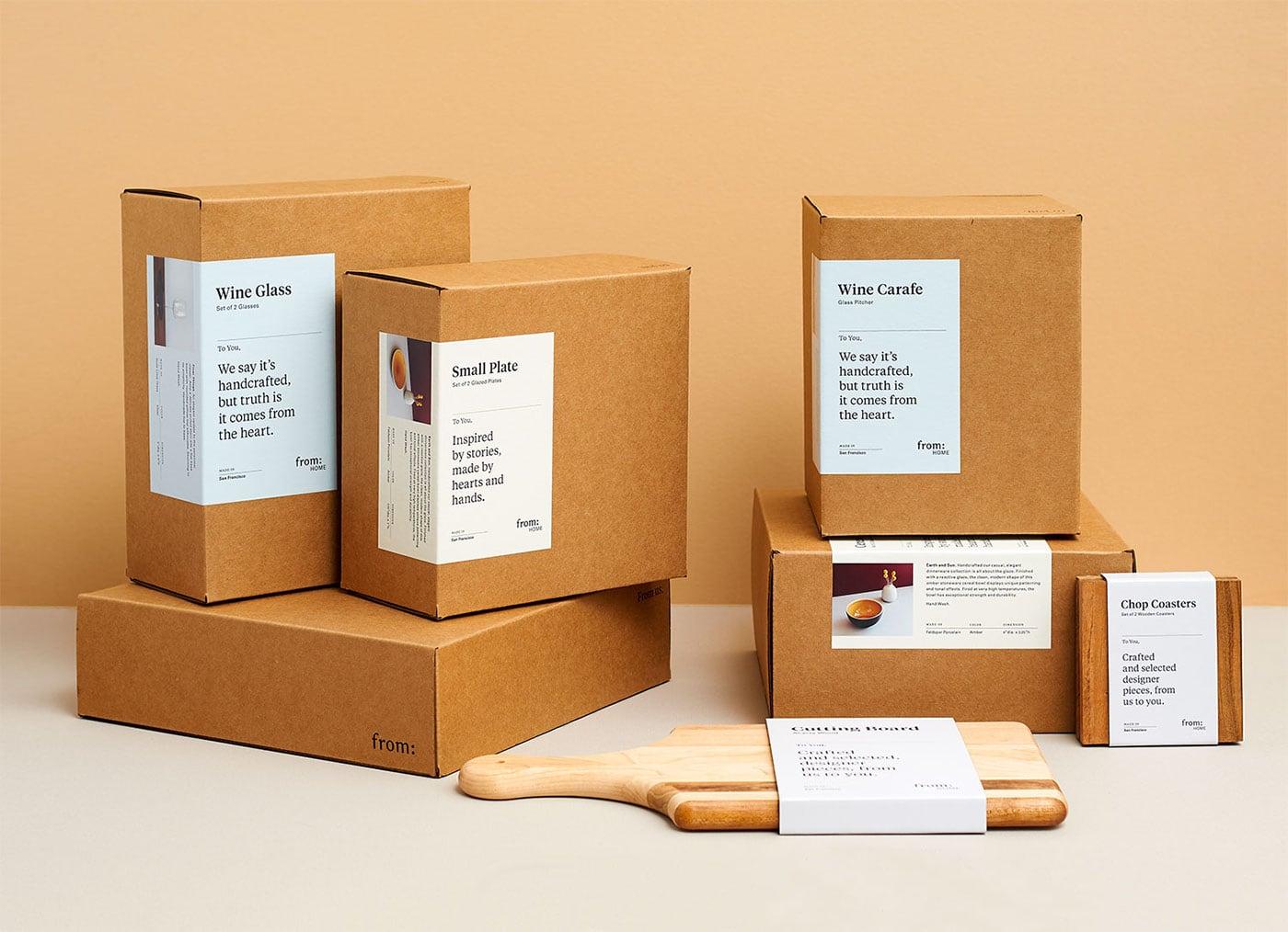 Hộp cứng được làm bằng giấy thân thiện với môi trường