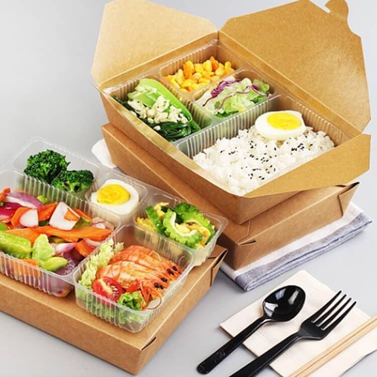 Mẫu hộp giấy đựng cơm, kimbap, sushi