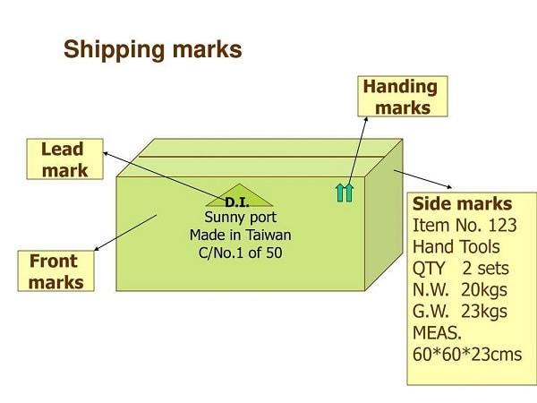 Shipping marks thùng carton - Các thông tin bạn cần biết