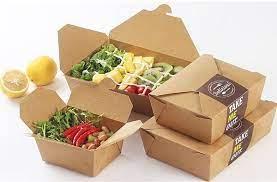 Hộp giấy đựng thức ăn - Sự góp mắt mới mẻ trong kinh doanh ẩm thực
