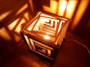 Hộp giấy tái chế - Bí kíp đơn giản để có được chiếc đèn ngủ lung linh