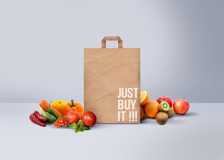 Sản xuất túi giấy đựng hoa quả