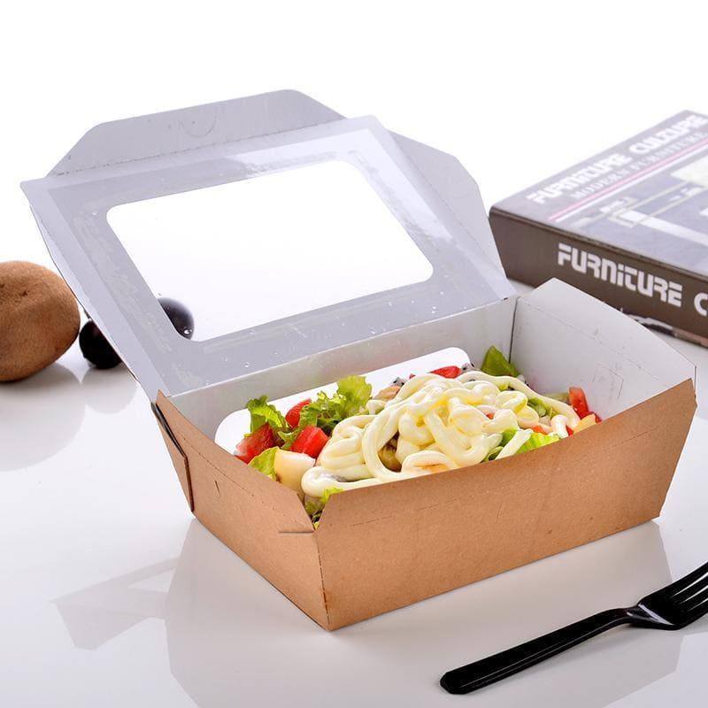 Những lợi ích khi sử dụng hộp giấy cứng đựng thức ăn nhanh