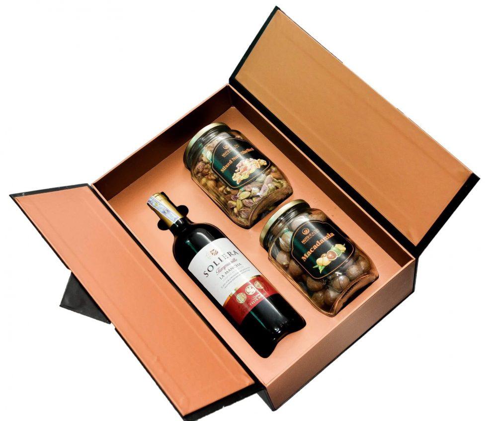 Quy trình in ấn mẫu hộp đựng rượu đẹp