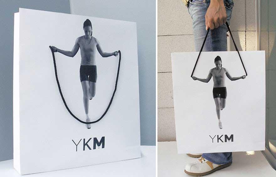 Túi giấy của YKM