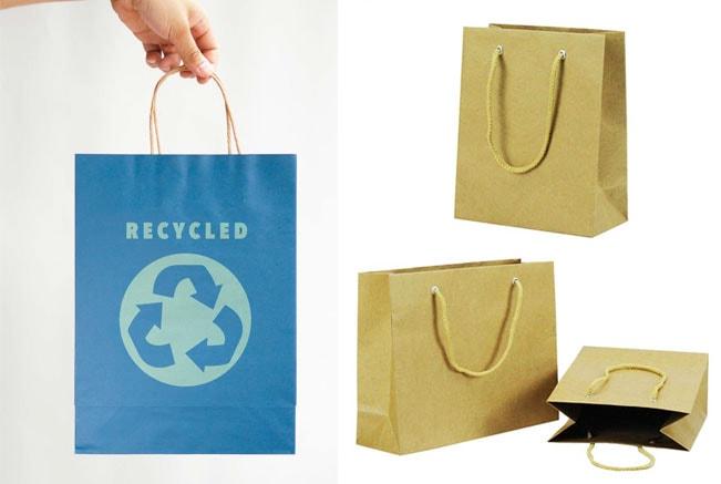 Túi giấy kraft dễ dàng tái chế, thân thiện với môi trường và tiết kiệm chi phí