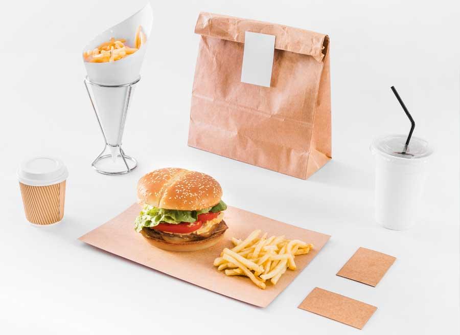 Túi giấy dùng để đựng thực phẩm
