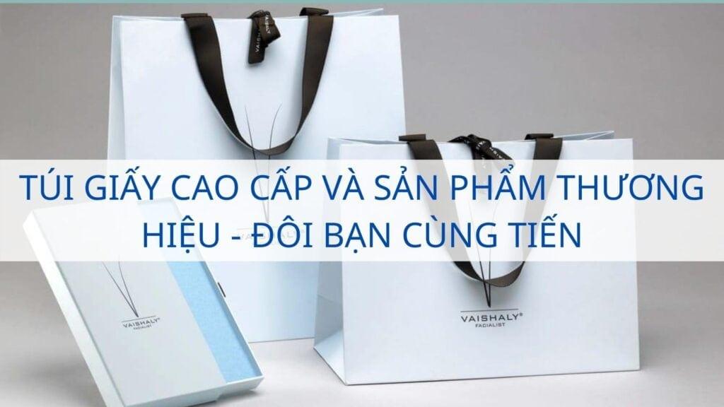 Túi giấy cao cấp và sản phẩm thương hiệu - Đôi bạn cùng tiến