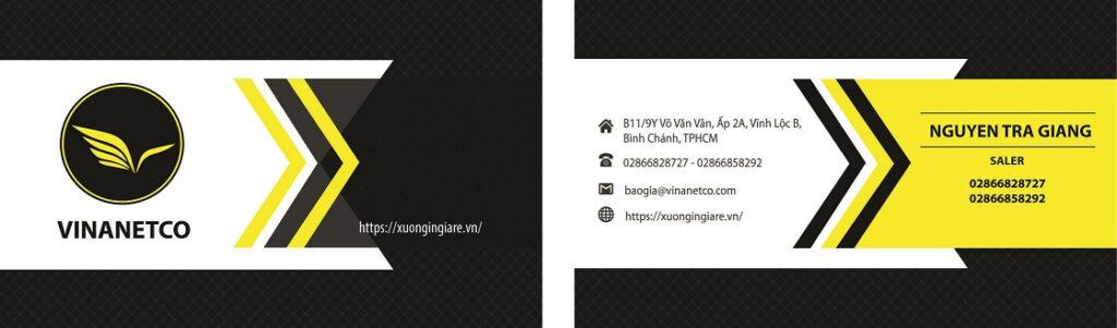 Download mẫu card visit đẹp file corel, Phần mềm thiết kế card visit, mẫu namecard043