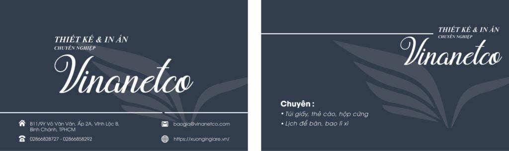 In name card giá rẻ, in name card tphcm, mẫu namecard074