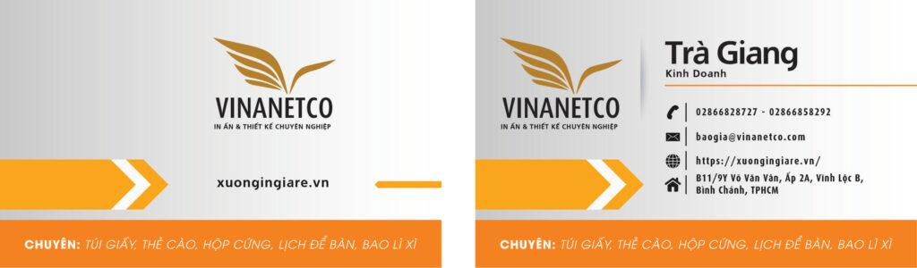 a name in cards, in an name card, mẫu namecard090