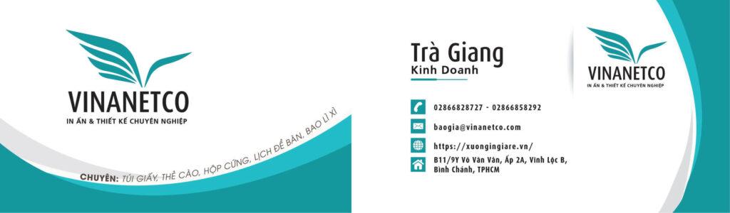 in an name card, a name card printing, mẫu namecard091