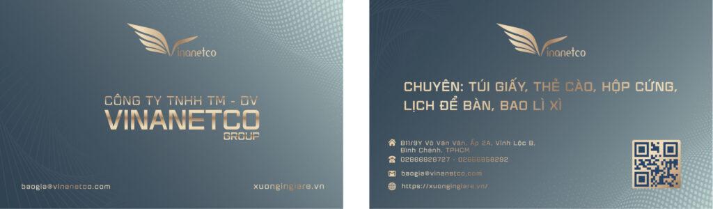 in name card bình dương, name of card bank, mẫu namecard104