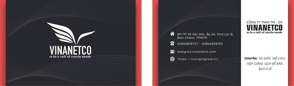 e name card holder, e print name card, mẫu namecard138