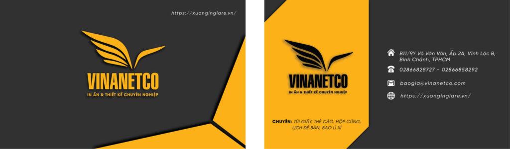 in name card gò vấp, in name card gần đây, mẫu namecard146